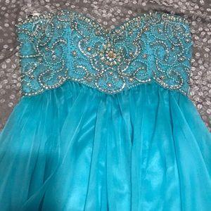 Sherri Hill Beaded Prom Dress
